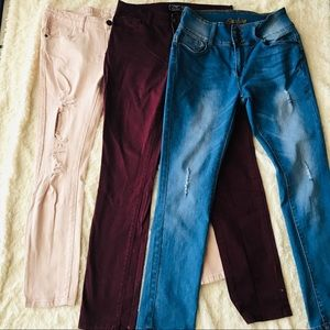 Denim Bundle! 3 Pairs of Jeans Size 11